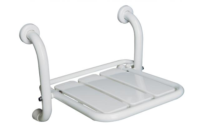Sedile Doccia Disabili Ribaltabile : Sedile ribaltabile doccia senza braccioli wccare