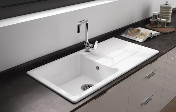 Lavello da cucina una vasca c/piletta Reno - online