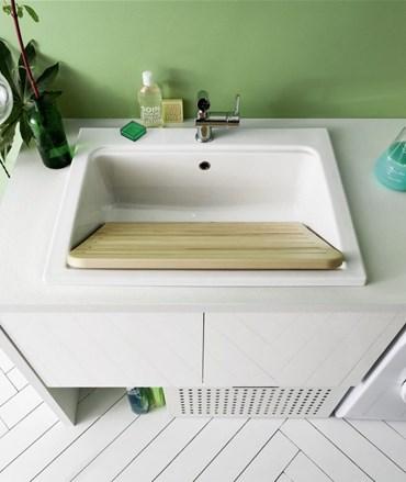 Lavatoio Per Lavanderia Ceramica.Lavatoio Bolle 9 In Ceramica Arbi