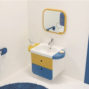 lavabo 43 con foro per accessori wc kids